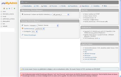 Wordpress Installation Teil 1