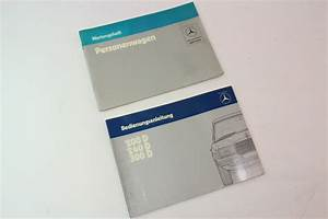 Mercedes Operating Instructions Owners Manual 200 240 300 D W123