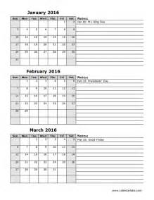 Microsoft Excel Templates Free 2016 Three Month Calendar Template 12l Free Printable Templates