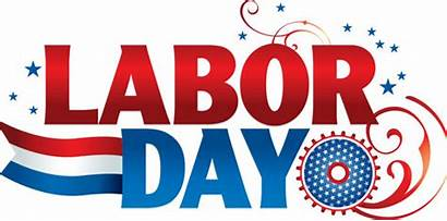 Labor Clip Weekend Happy Holiday September Labour