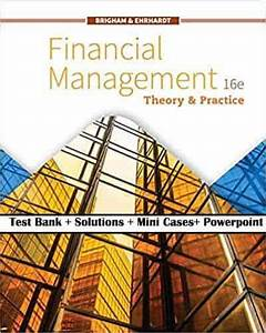 Financial Management  Theory And Practice  16e