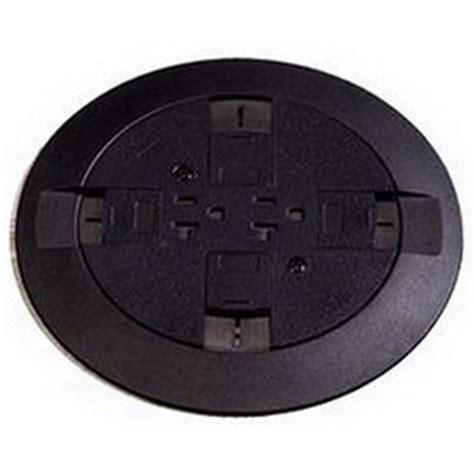 wiremold floor boxes poke thru wiremold rc7atcbk multi service flush poke thru