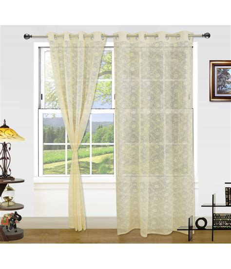dekor world curtains dekor world set of 2 window eyelet net curtains buy