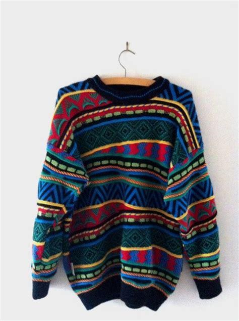 striped duvet sweater pattern blue green black yellow