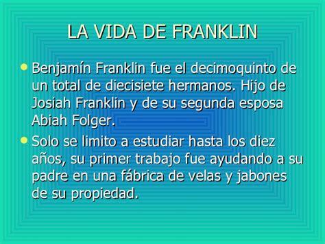 benjamin franklin y el pararrayos