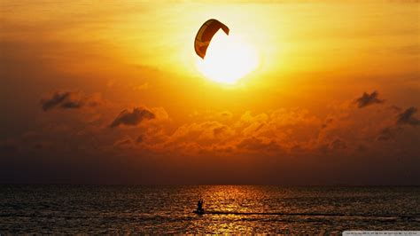 kite surfing wallpaper wallpapersafari