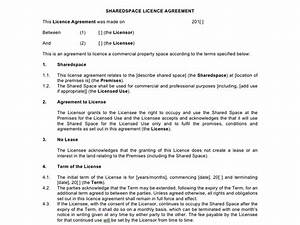 magnificent occupancy agreement template photos resume With commercial property licence agreement template