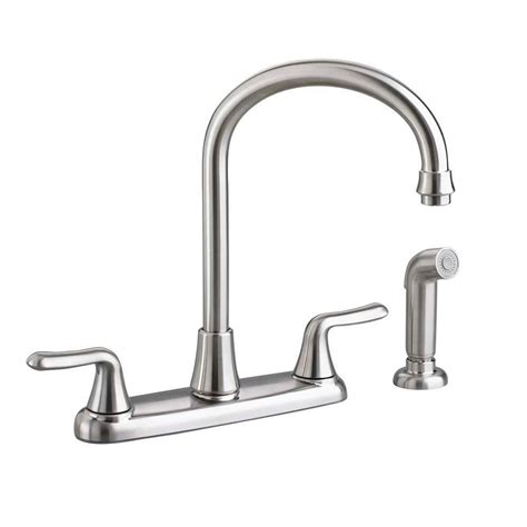 standard kitchen faucets standard colony 2 handle standard kitchen