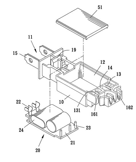 patent us7766681 waterproof electric or receptacle
