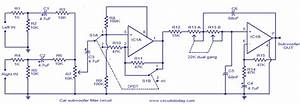 Car Subwoofer Filter Circuit Diagram  62369