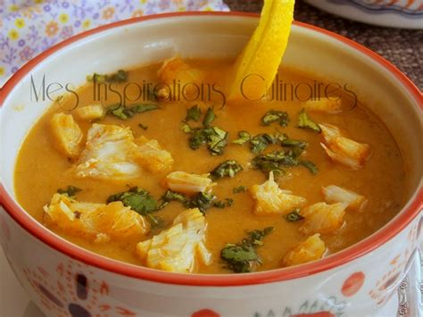 la cuisine marocaine soupe de fenouil chorba de poisson le cuisine de