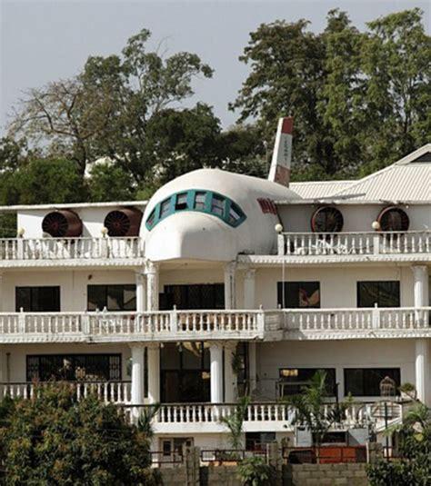 Foto : Ein Flugzeug-Haus in Nigeria