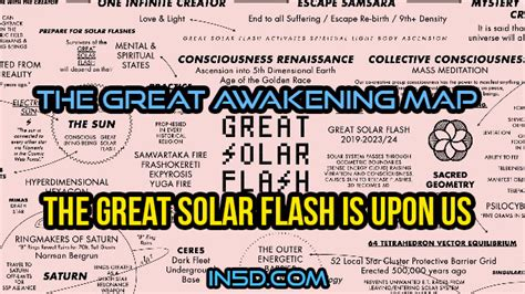 great awakening map  great solar flash