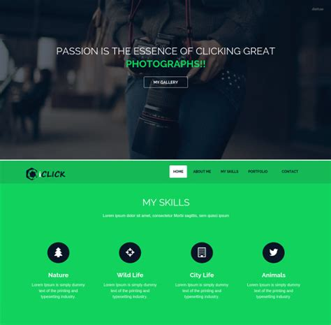 bootstrap gallery themes templates  premium