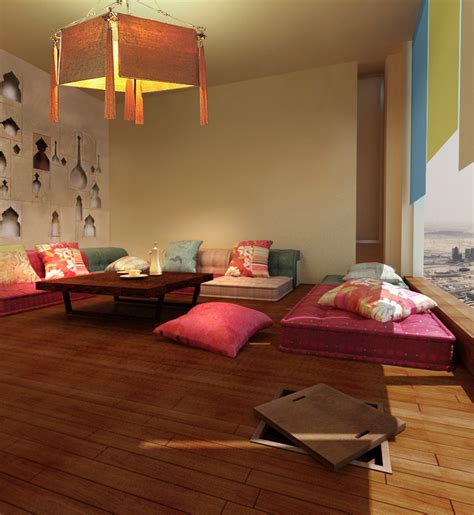 space decorations for room family living in modern arabic style living room by draw