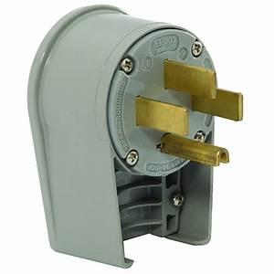 Generac 50-amp 125  250-volt Male Plug-6332