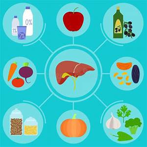 A Healthy Liver And A Liver With Cirrhosis  Medical