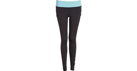 light blue workout leggings forever 21 side pocket skinny workout leggings in blue lyst
