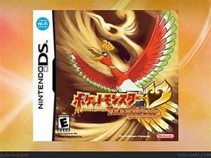 Pokemon Heart Gold Version Nintendo Ds Box Art Cover By Rezliv