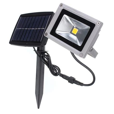 10w solar led flood light waterproof outdoor landscape l