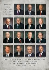 LDS First Presidency and 12 Apostles