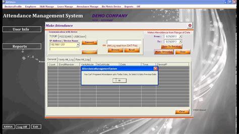 biometric fingerprint employee time attendance