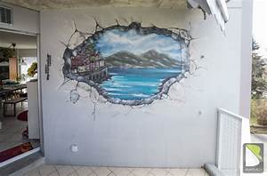 Mur Trompe L Oeil : mer ~ Melissatoandfro.com Idées de Décoration