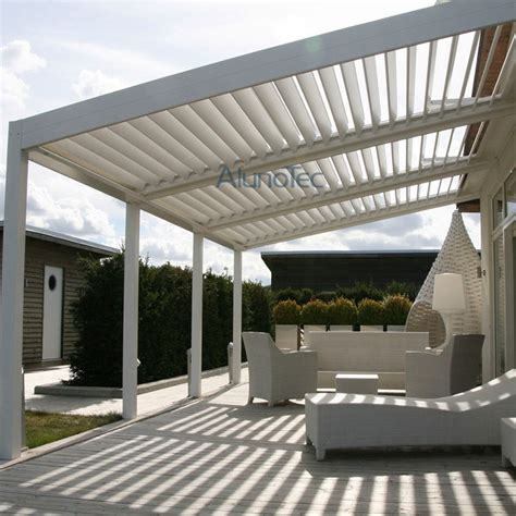 alunotec aluminum patio louver roof pergulas buy patio