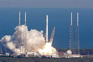 SpaceX Rocket Lands on Ocean Drone Ship in Historic First ...