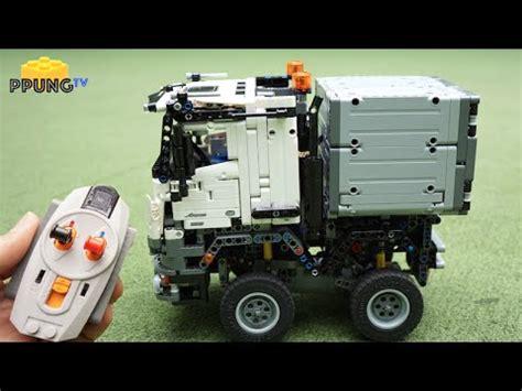 mercedes arocs lego lego technic 42043 rc motorized mini mercedes arocs by 뿡대디