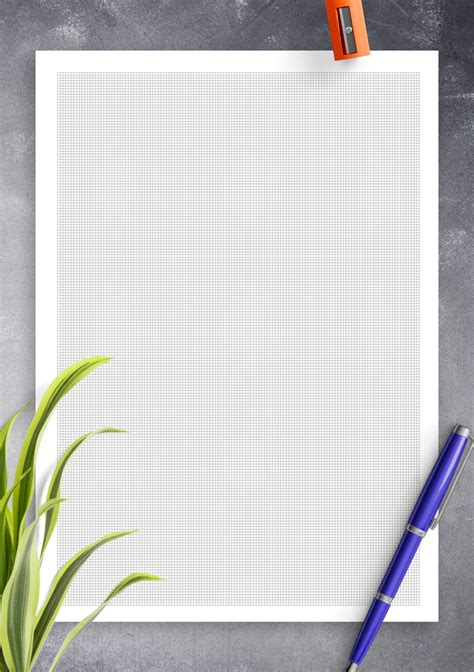 printable engineering graph paper mm squares