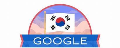 Korea Doodles Liberation Independence National Google India