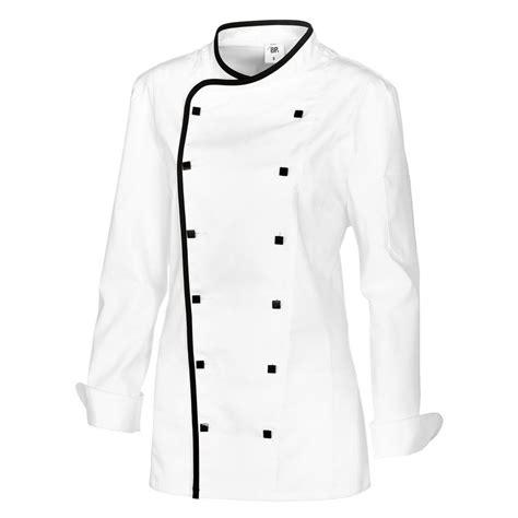 tablier et toque de cuisine veste cuisine femme avec liseré comfortech stretch peut