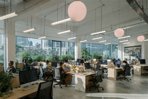 Office Space Vs The Office by The Secret Agency Offices Singapore Office