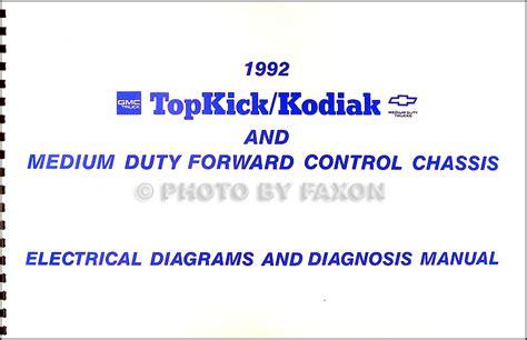 Chevy Kodiak Gmc Topkick Wiring Diagram Manual