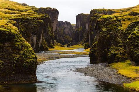 iceland landscape stream  photo  pixabay