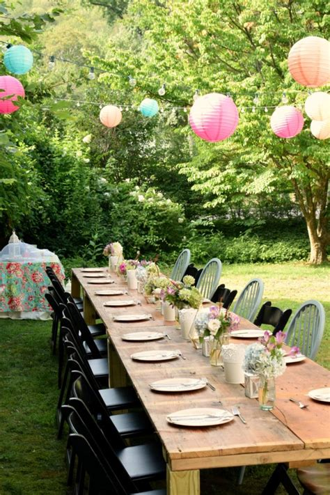 Charming Garden Party perfect for your next party idea