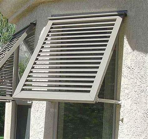 awnings   windows   west side