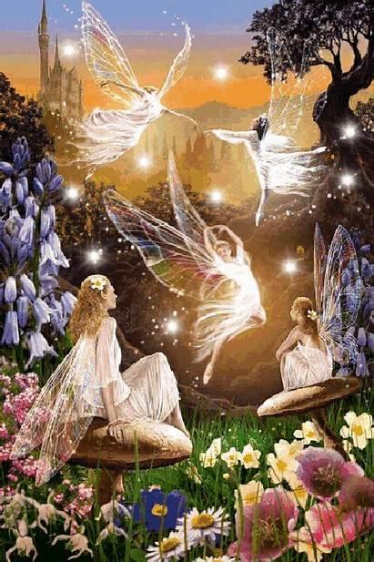 Fairy Fairies Land Magic Scenery Fantasy Elves