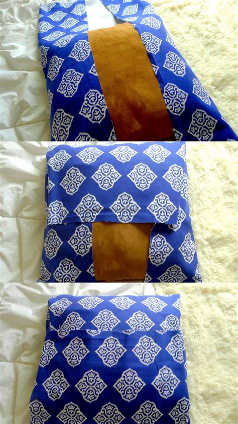 No Sew Cushion Covers Sofa by Diy No Sew Pillow 10 Minute Project That Costs Less