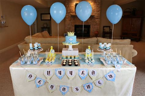 1st birthday party ideas for boys right start on a birthday decoration ideas for baby boy image inspiration