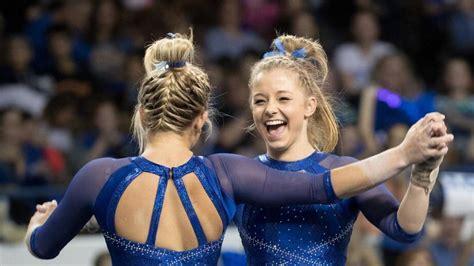 kentucky gymnastics team sets school record  upset win