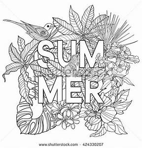 Tropical Coloring Pages For Adults Coloring Pages ...