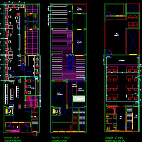 structured cabling convergent  autocad cad  kb