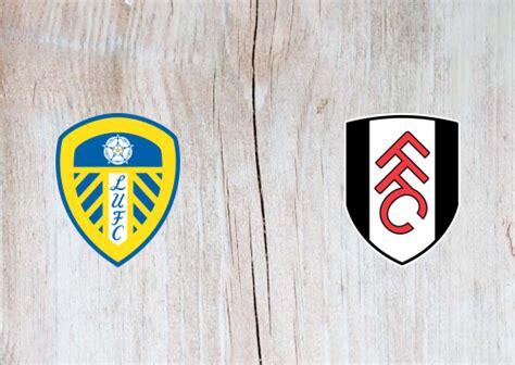 Leeds United vs Fulham -Highlights 19 September 2020 ...