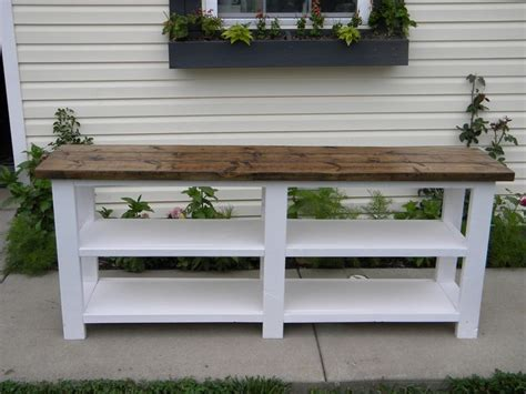 rustic  console    home projects  ana