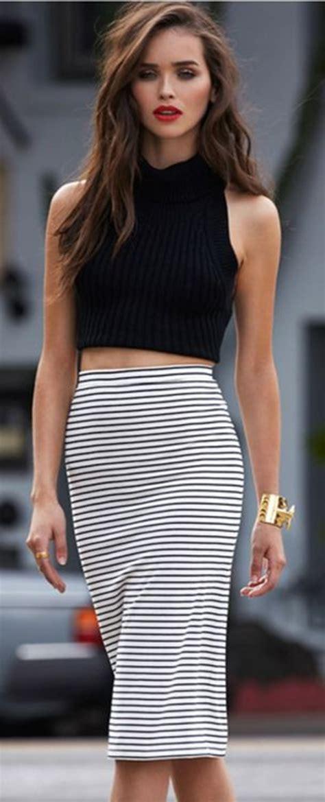 Five Chic Ways To Wear Crop Tops  How To Wear Crop Tops