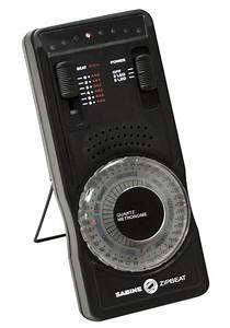 Qwik Time Digital And Analog Metronome Measuring Devices