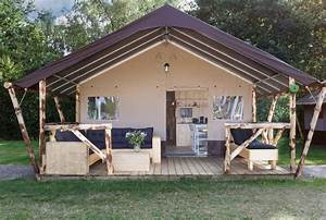 Glamping De Luxe : luxe lodgetent pauw 6 persoons glamping verblijf ~ Zukunftsfamilie.com Idées de Décoration