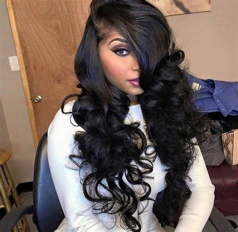 Side Part Sew In Weave Hairstyles by 15 Best Of Hairstyles Side Part